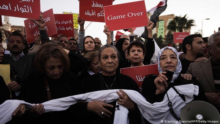 Ägypten Protest Verfassung Mursi