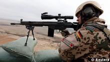 Afghanistan Deutschland Bundeswehr Einsatz bei Baghlan Soldat