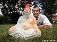Садовый гном Будда
