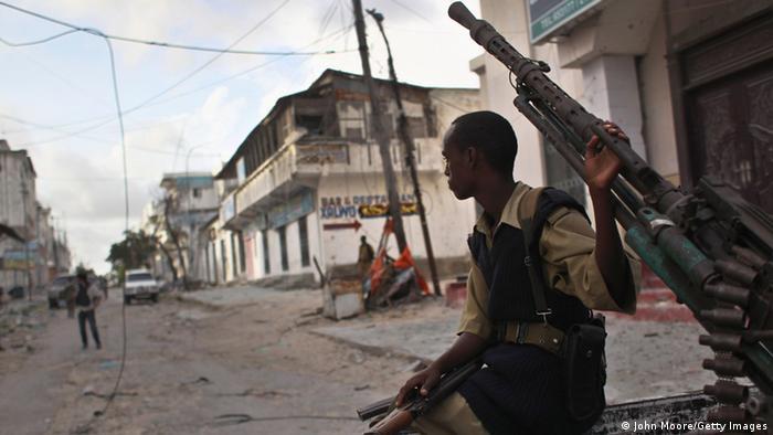 Somalien Rebellen Black Hawk Down (John Moore/Getty Images)