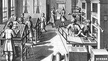 Druckvorlage 400 Jahre Zeitung - ein Medium Geschichte