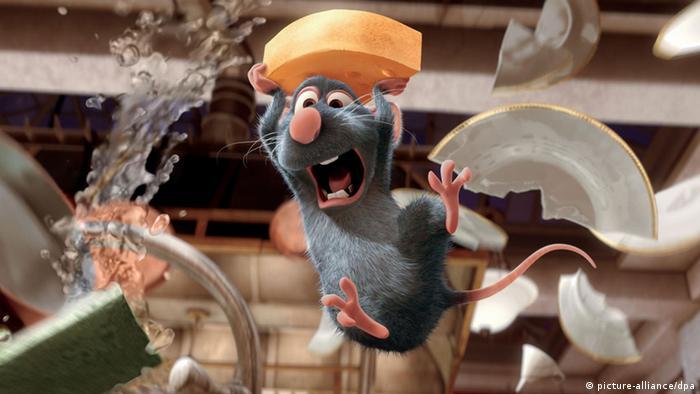 Animationsfilm Ratatouille Pixar