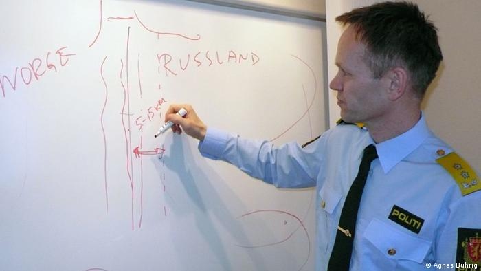 عبور از مرز نروژ و روسیه در منطقه شیریکنس غیرقانونی نیست