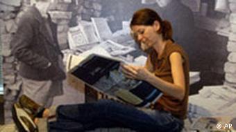 Ausstellung 400 Jahre Zeitung in Mainz
