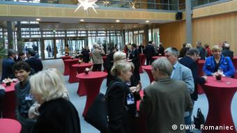 Kongress der Polen in Deutschland, informelle Gespräche Foto: DW/Rosalia Romaniec Ort: Berlin Landesvertretung NRW Datum: 08.12.2012