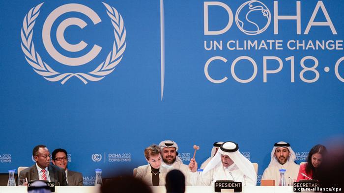 Klimakonferenz Doha Abdullah bin Hamad Al-Attijah (picture-alliance/dpa)