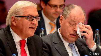 Ausserordentlicher Bundesparteitag der SPD Peer Steinbrück