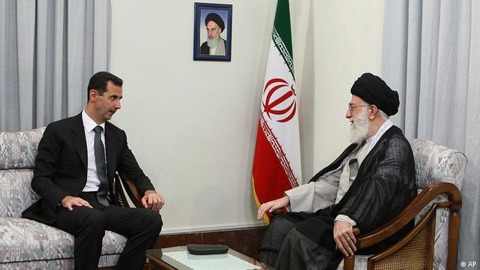 دیدار آیتالله علی خامنهای، رهبر جمهوری اسلامی، با بشار اسد، رئیس جمهور سوریه در ۲ اکتبر ۲۰۱۰