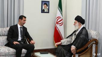 دیدار بشار اسد با آیتالله خامنهای در تهران