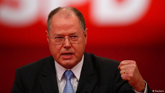 """... dźwignię"""" w eksporcie niemieckiego uzbrojenia - oświadczył kandydat SPD na urząd kanclerza w przyszłorocznych wyborach powszechnych, Peer Steinbrück. - 0,,16440005_303,00"""