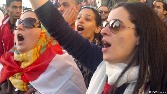 Ägypten Proteste gegen Mursi Frauen