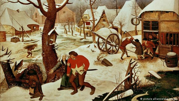 Питер Брейгель Младший. Возвращение из трактира (ок. 1620)