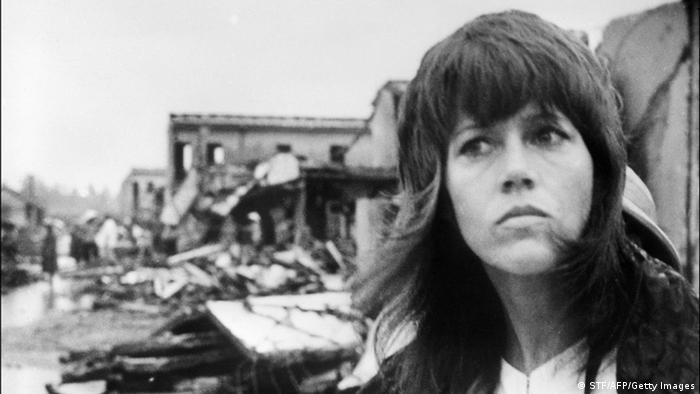 Jane Fonda 1972 in HANOI, VIETNAM