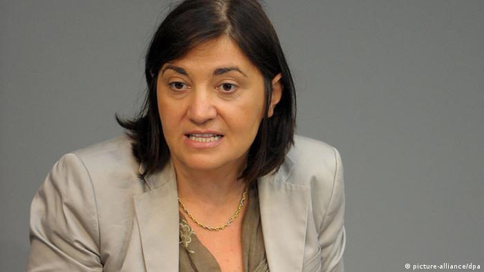 Yeşiller Çocuk ve Aile Politikaları Sözcüsü federal milletvekili Ekin Deligöz