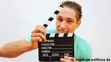 Film Regie Klappe Symbolbild