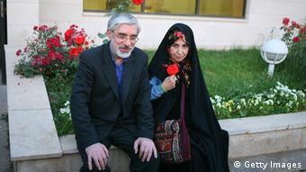 Rahnavard Musavi Präsidentschaftskandidat Iran 2009