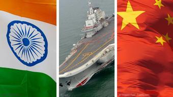 Bildmontage Marine Aufrüstung Indien und China