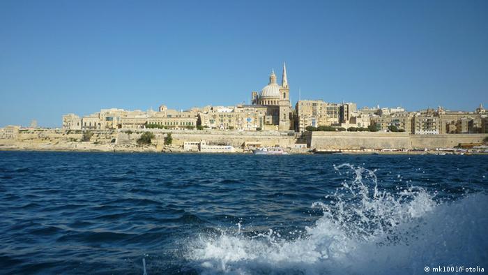 Blick übers Meer auf Valetta (Foto: mk1001/Fotolia)