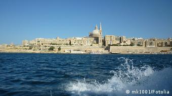 Вид на столицу Мальты с моря