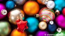 Trends beim Thema Weihnachtsbaumschmuck. #46948237 © victoria p. - Fotolia.com
