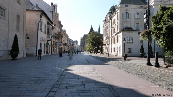 Havna, the main avenue in Kosice