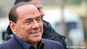 Berlusconi grinst Photo: Getty Images