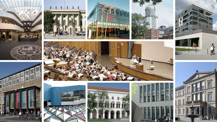 Die top 11 elite unis in deutschland bildung dw de for Universitaten deutschland