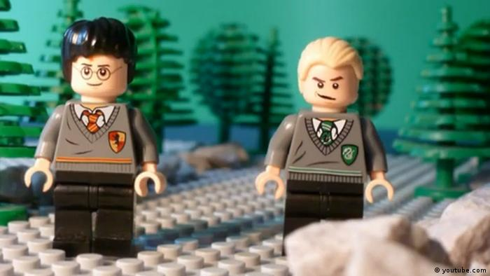 Screenshot Youtube - Harry Potter und der Legostein der Weisen Teil II