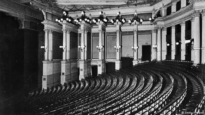 Bayreuth Festspielhaus 1960 (Getty Images)