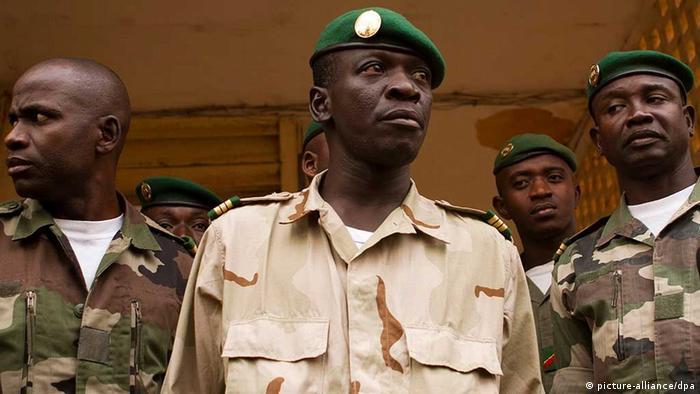 Amadou Aya Sanogo, le meneur du putsch, a été brièvement chef d'Etat