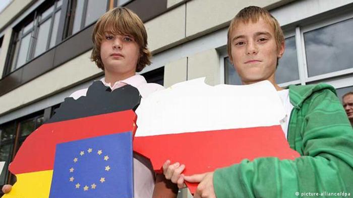 Symbolbild Deutschland Polen EU