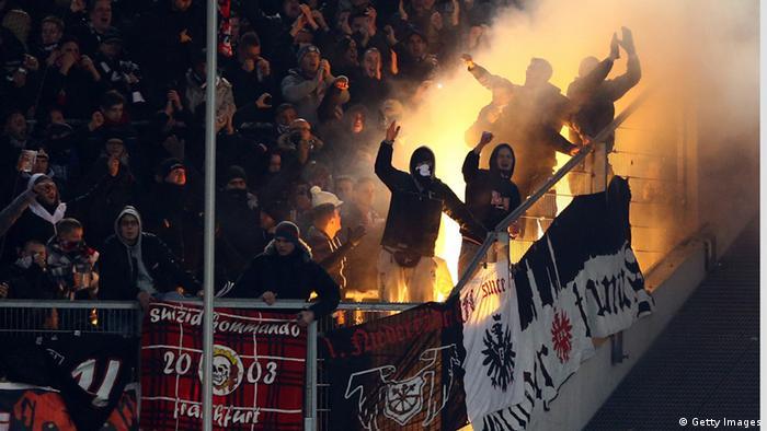 Bildergalerie Gewalt im Fußball