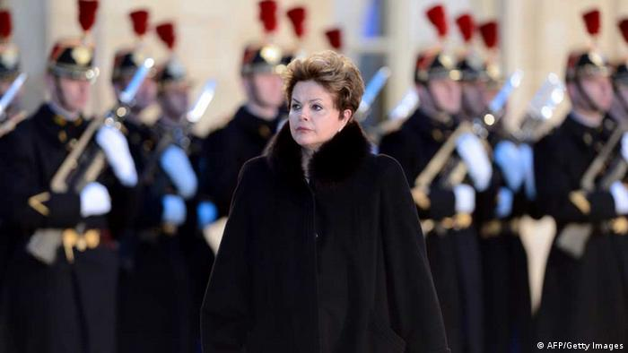 Dilma Rousseff in Frankreich