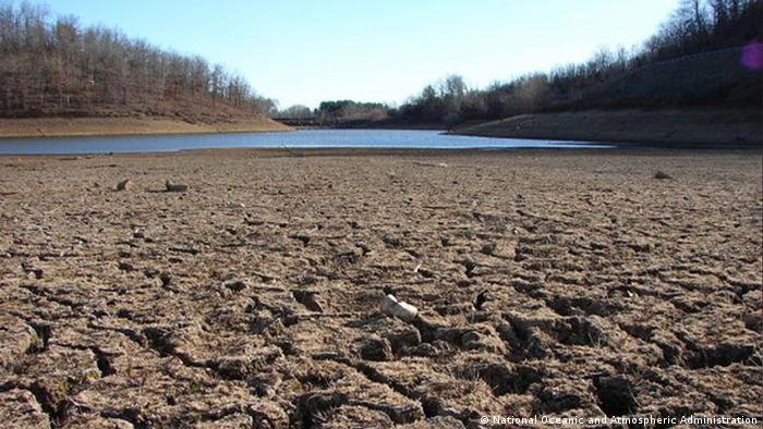 A dried up river (Foto: National Oceanic and Atmospheric Administration)