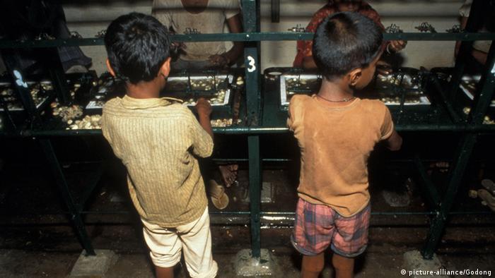 Детский труд в Индии