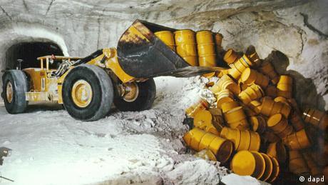 Radioaktiver Abfall im Salzbergwerk Asse ARCHIVBILD