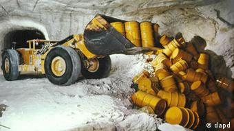В соляной шахте Ассе