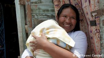 Los habitantes de Huaycán tratan de ahorrar agua.