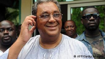Chairman of the opposition New Patriotic Party Jake Obetsebi-Lamptey (Photo:PIUS UTOMI EKPEI/AFP/Getty Images)