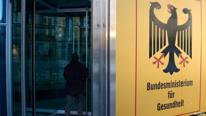 Deutschland Eingang Bundesministerium für Gesundheit
