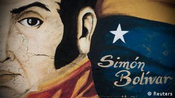Simon Bolívar, ícono del chavismo.