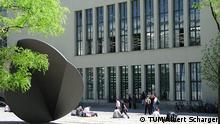 Deutschland Technische Universität München Innenhof Stammgelände