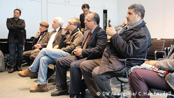 Delegates from Libya at DW Akademie in Bonn (photo: DW Akademie/ Charlotte Hauswedell).