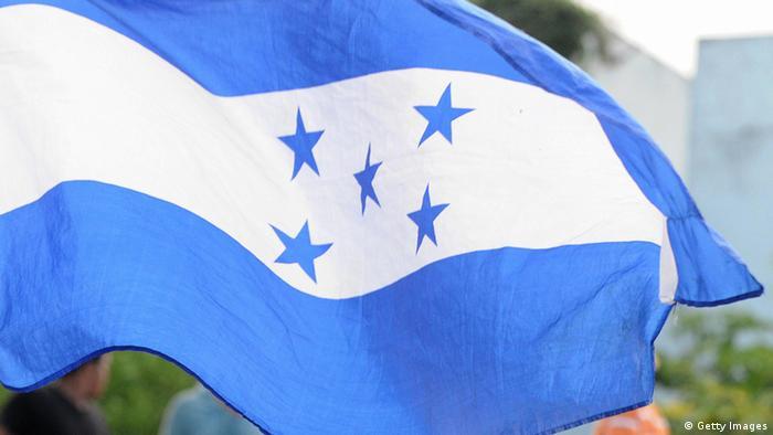 Symbolbild - Fahne Honduras