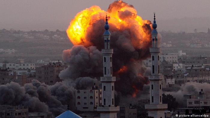 Bombaški napad na centralu Hamasa
