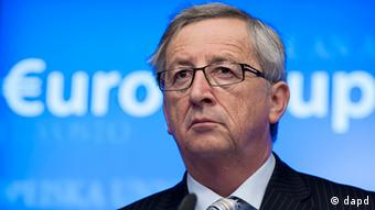 Luxembourg's Prime Minister Jean-Claude Juncker pauses before speaking during a media conference after a meeting of eurogroup finance ministers in Brussels on Thursday, Dec. 13, 2012. The European Union on Thursday took a major step towards one of the most important transfers of financial authority away from national capitals when its member states agreed to create a single supervisor for their banks. (Foto:Virginia Mayo/AP/dapd)