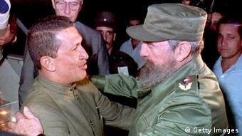 Bildgalerie über das Leben des venezolanischen Präsidenten Hugo Chávez