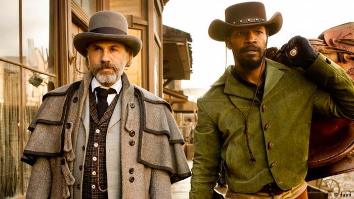 """Quentin Tarantino'nun western çalışması """"Django Unchained"""""""