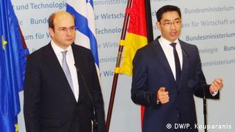 Από παλαιότερη συνάντηση του Κ. Χατζηδάκη με το γερμανό υπουργό Οικονομίας Φ. Ρέσλερ