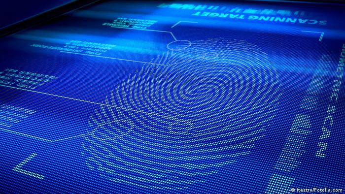 Scanner Fingerabdruck